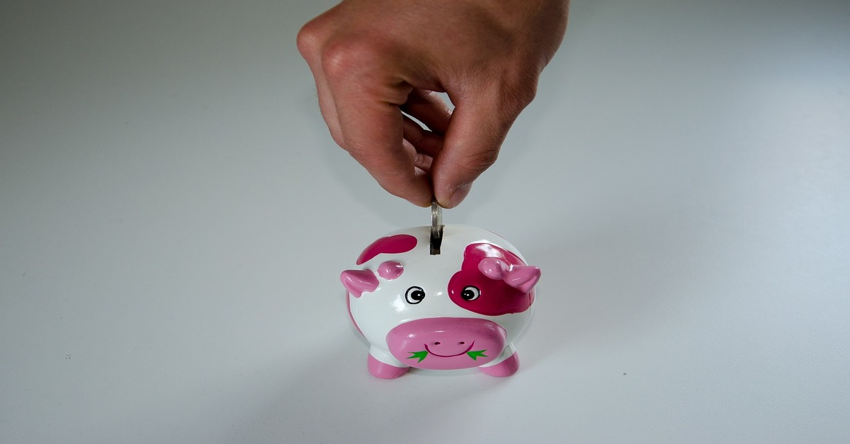savings in your piggy bank