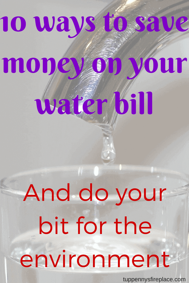 10 ways to save money on your water bill