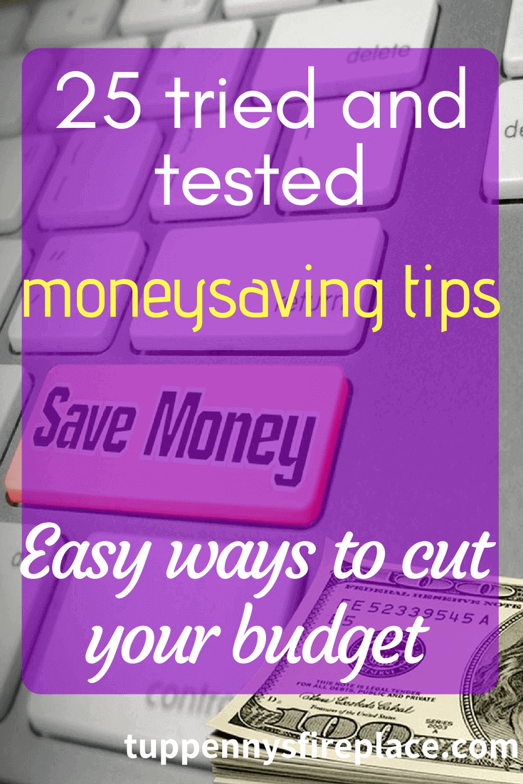 25 tried and tested moneysaving tips