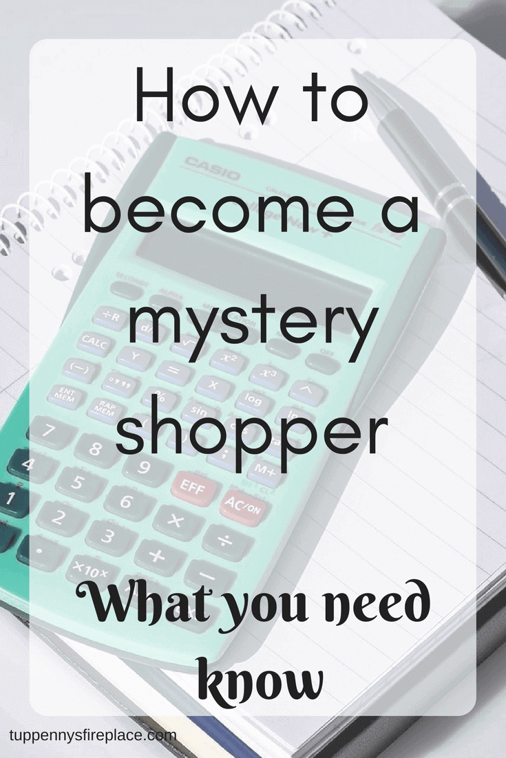 How to become a mystery shopper. Make money from home with mystery shopping as a side hustle. Earn extra money to help pay off debt or maybe to save money. #mysteryshopper #mysteryshopping #earnmoneyfromhome #earnextramoney #sidehustle #hustle #extraincome #savemoney #payoffdebt