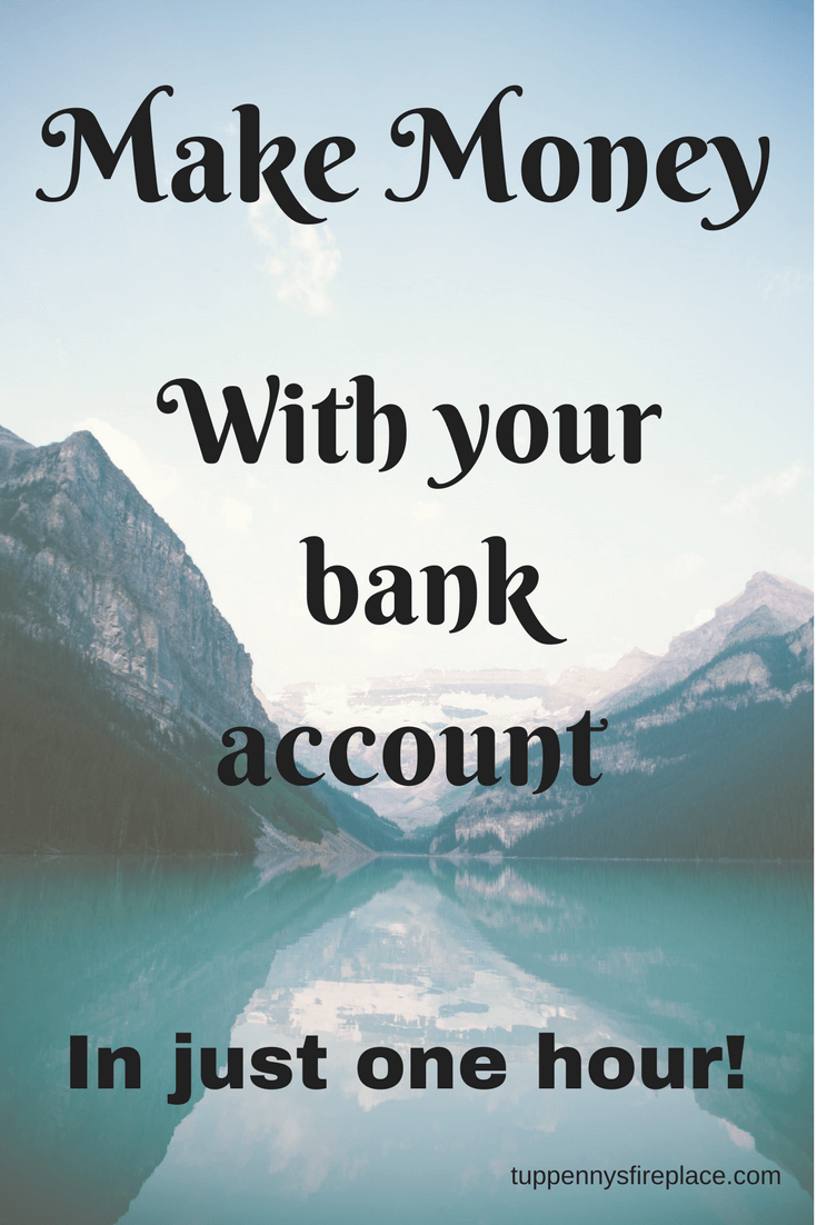 make money with your bank account