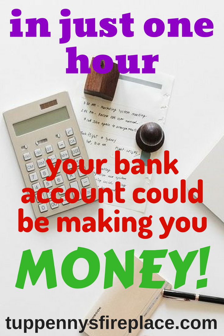how to make money off your bank account