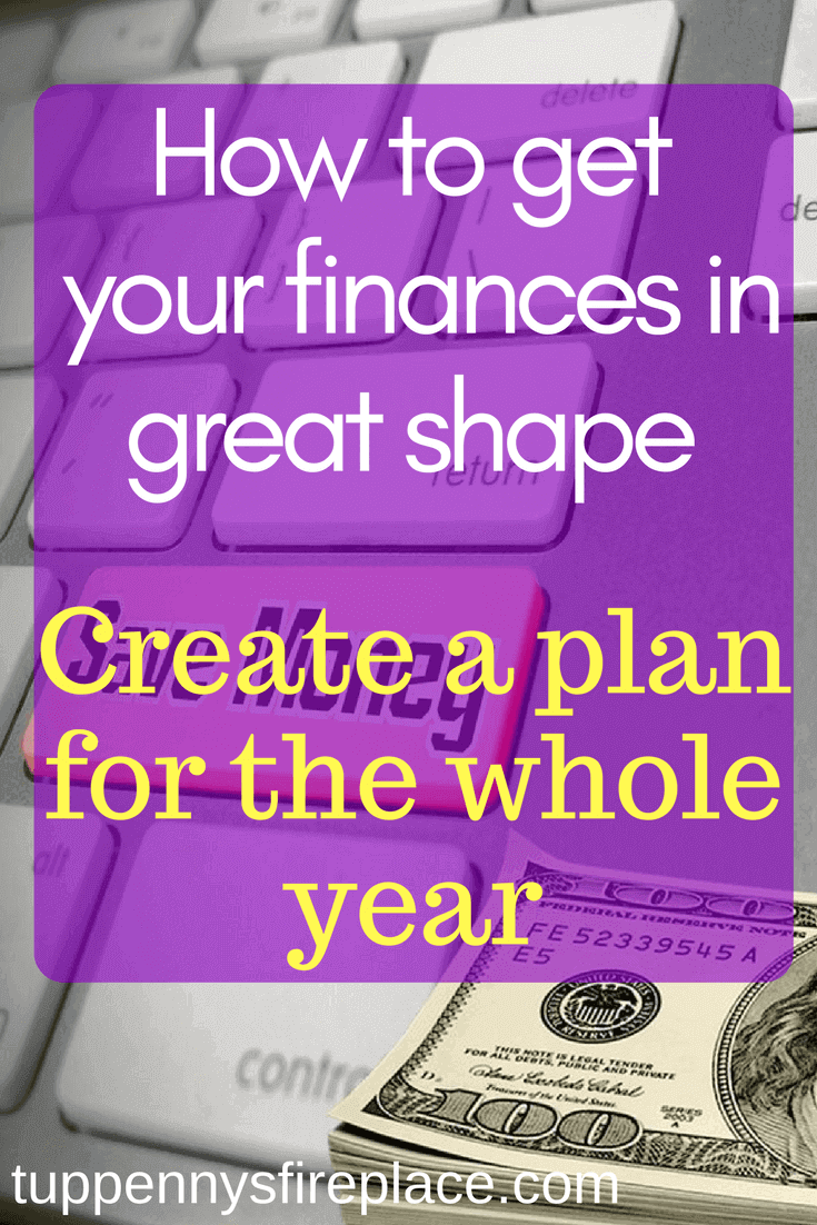 new year finances, how to get in shape for the new tax year