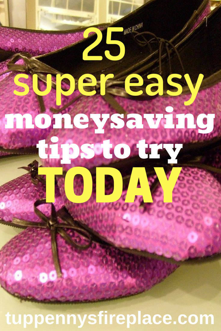 25 tried and tested moneysaving tips. These money saving tips, tricks and hacks will help you manage your budget and save your pennies and dollars. Save money on food, your house, utility bills and much more. #money #moneysaving #moneytips #budget