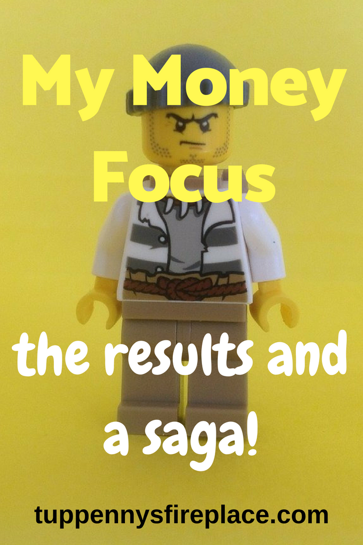 May Money Focus - the results and a saga! Learn how I got on when trying to stick to my saving and budgeting goals. How I dealt with money mistakes and children. You can see how I spent my money, where I went wrong with my budget and what financial plans I need to put into place now. #budgeting #savingmoney #saving #money