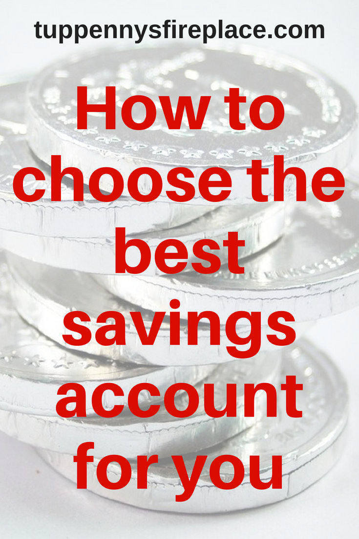 How to choose the best savings account for you. Find out which account is best for your savings. Savings account for you. #savemoney #savings