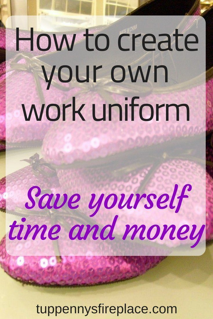 Why you should create your own work wardrobe, saving you time and money. Save money and your budget by creating a capsule wardrobe for work cheaply. Work clothes don't need to be expensive. Be more organised, save time in the mornings with a work uniform. #savemoney #savetime #timesaving #budget #capsulewardrobe #workuniform