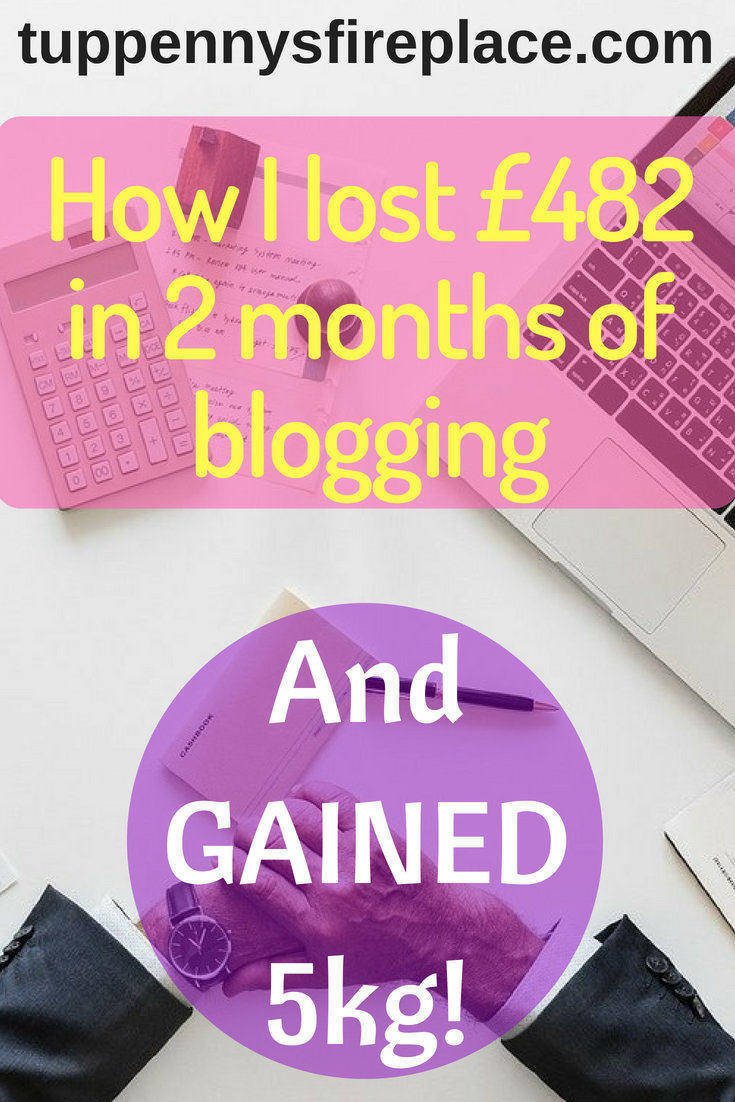 2 month blog report and why I earned -£482.53. Blogging for beginners, read why I have not yet earned any money. Find out what blogging tips and ideas I am using. #blogging #bloggingforbeginners #bloggingideas