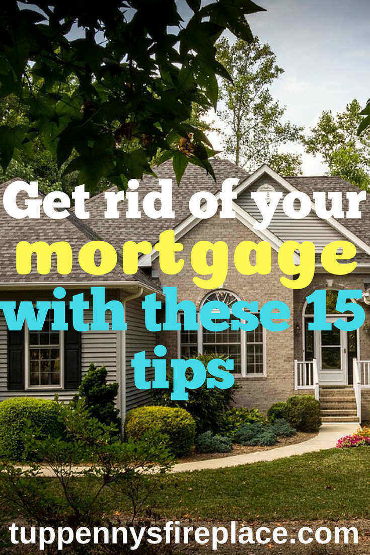Become mortgage free with these 15 tips. Pay off your mortgage years early by using these money saving hints and tips. Manage your money to pay off your home loan and save thousands in interest payments. #mortgagefree #payoffmortgage #savemoney #savingmoney #money #debtfree