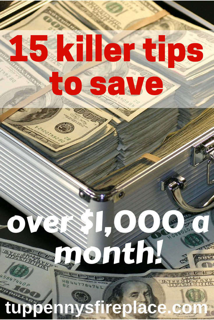 15 ways to save money. Budgeting tips and frugal living tips to help you manage your money and achieve your money goals. Saving money doesn't have to be hard! Easy finance tips. #savemoney #financetips #savingmoney #budgeting #budget #moneyplan #moneygoals