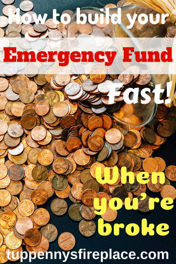How to kickstart your rainy day fund when you are broke. Save cash into your emergency fund and you will stress less about your money. Emergency cash covers your unexpected bills and having those savings is key to getting your finances in order. #emergencyfund #rainydayfund #savemoney #stressless #finances #personalfinance #savingmoney #budgettips #budget #savecash
