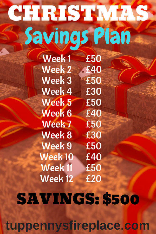 Get your Christmas savings plan started now. A Christmas money challenge will help your finances and your budget. Save money every week, be frugal and achieve your money goals. #christmassavingsplan #moneygoals #christmasmoneychallenge #budget #savemoney #savingmoney #saveforchristmas