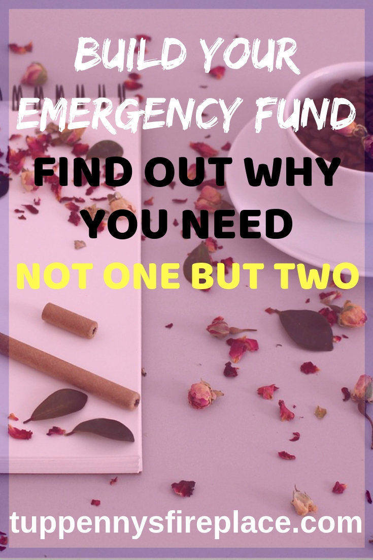 The best thing you can do for your finances is to have two emergency cash savings accounts. These are rainy day funds to help you budget and stop you getting into debt from unexpected bills. Saving money even if you are still trying to become debt free will help you manage your personal finances hugely. #savemoney #debt #finance #personalfinance #emergencycash #budgeting #budget