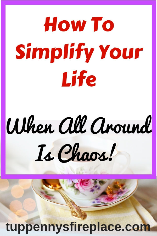 How to simplify your life when you don't know how. Find inspiration on how to simplify your home and tips to simplify your lifestyle. If you are feeling overwhelmed and want to de-clutter then a simplified lifestyle is just what you need. #simplify #simplifyyourlife #simplifiedlifestyle #declutter #minimalism #frugalliving #frugal