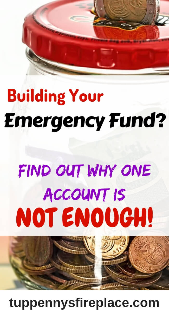 Why you need 2 emergency funds to manage your money. Be brilliant with saving money and budgeting and get your cash stashed! #savemoney #emergencycash #tuppennysfireplace #budgeting #budget #personalfinance #finances