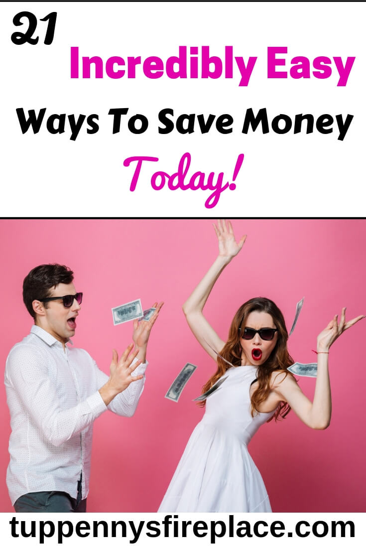 I love these 21 money saving tips. Easy ways to save money to help me achieve my money goals. Including budgeting tips and frugal lifestyle tips. #budgeting #moneysavingideas #moneysavingtips #moneygoals #savingmoney