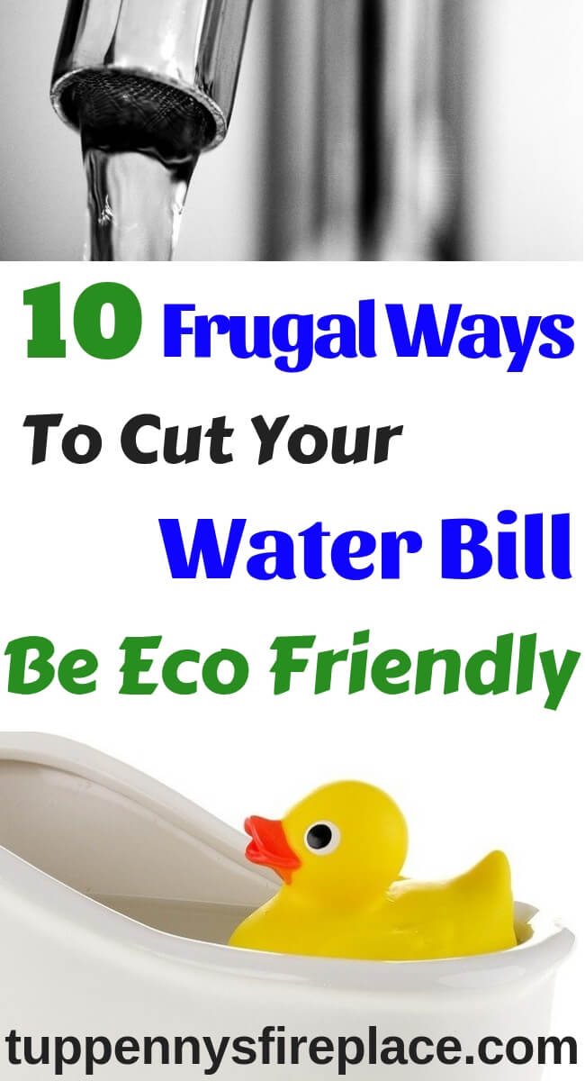 Cut your water bill with these brilliant money saving tips. Be eco friendly and manage your money. Budgeting tips to help you save money and save water. Help the environment and help your budget by saving water and saving money. #savewater #ecofriendly #moneysavingideas #moneysavingtips