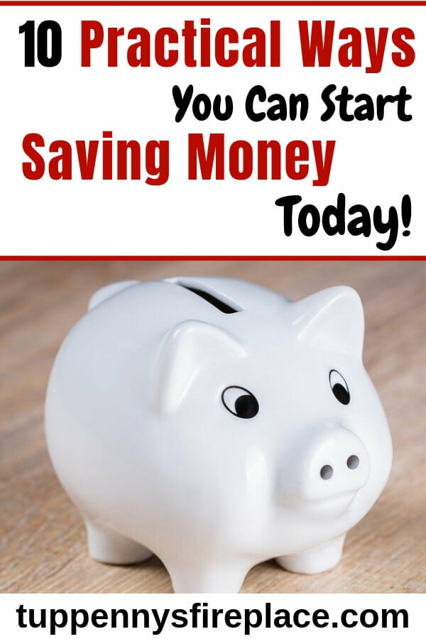 Fabulous practical ways to save money that will help you kickstart your money saving journey. All the best ways to save money in one place. #moneysavingideas #moneysavingtips #savingmoney