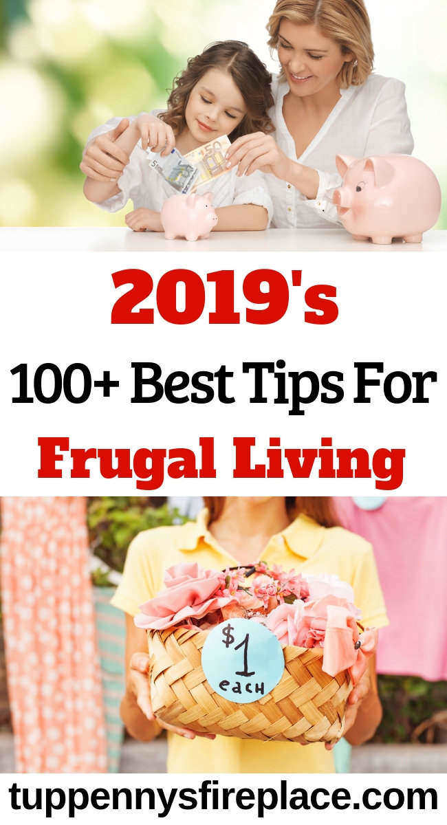 Wow! So many frugal living tips to help me learn how to be frugal. Best frugal living tips for 2019 to help you save money. #frugallivingtips #frugalliving #frugal #moneysavingideas #moneysavingtips