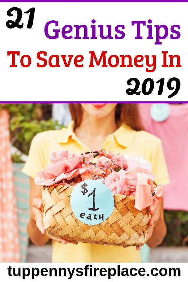 I love these 21 money saving tips to kickstart my 2019. Easy ways to save money to help me achieve my money goals. Including budgeting tips and frugal lifestyle tips. #budgeting #moneysavingideas #moneysavingtips #moneygoals #savingmoney