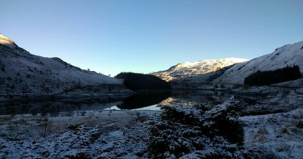View down to Haweswater