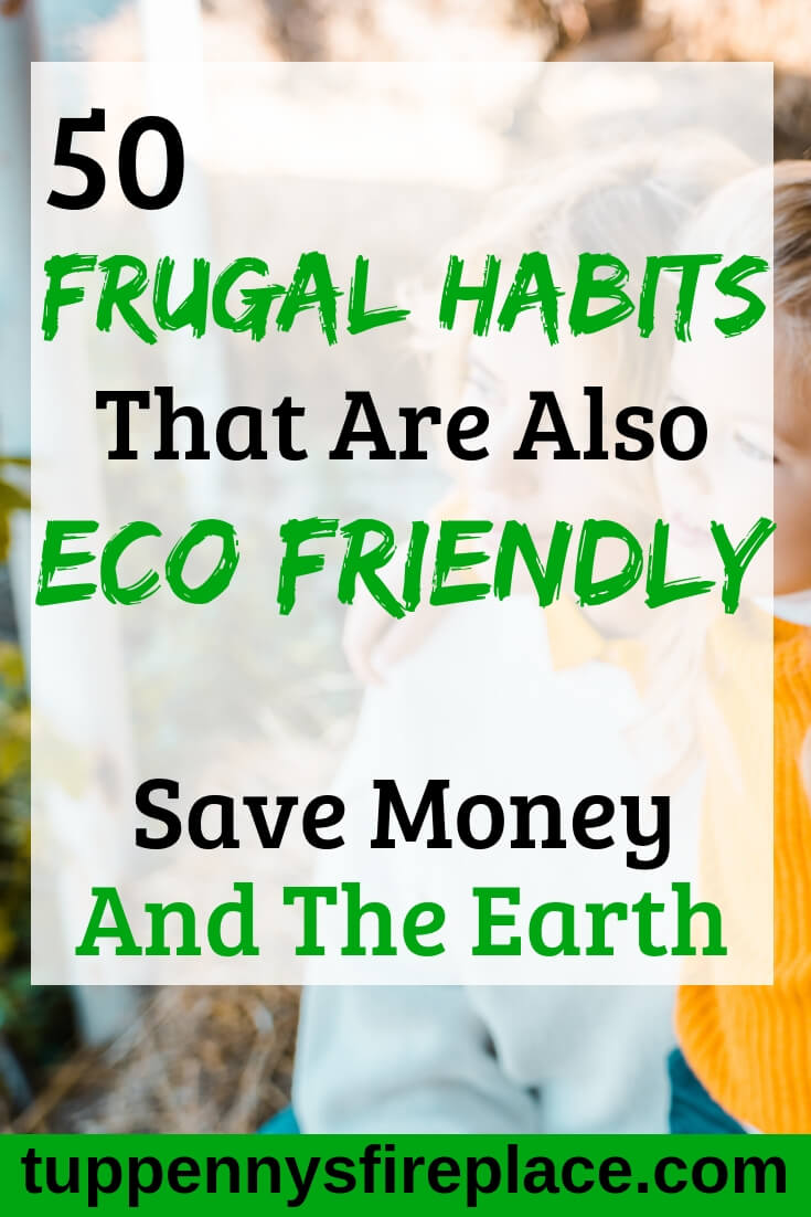 I love how these frugal tips are environmentally friendly too. A simple life and frugal lifestyle really can be eco friendly. These frugal hints, tips and tricks will help you save money and feel great. #frugal #savemoney #money #ecofriendly #environment #eco #savingmoney #simplelife