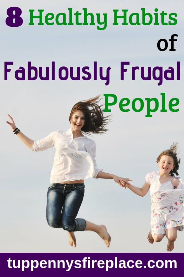 I love that a frugal lifestyle is healthy and helps me save money. 8 great ideas and tips on how to be frugal AND healthy. #frugallifestyle #frugallivingtips #frugal2fab