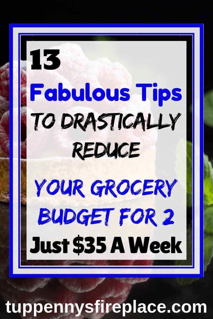 Now I know how I can cut my grocery budget for 2 right down. FREE PRINTABLE! Eat healthily and save money with these tips. #grocerybudget #foodlist #savemoneytips #moneysavingtips
