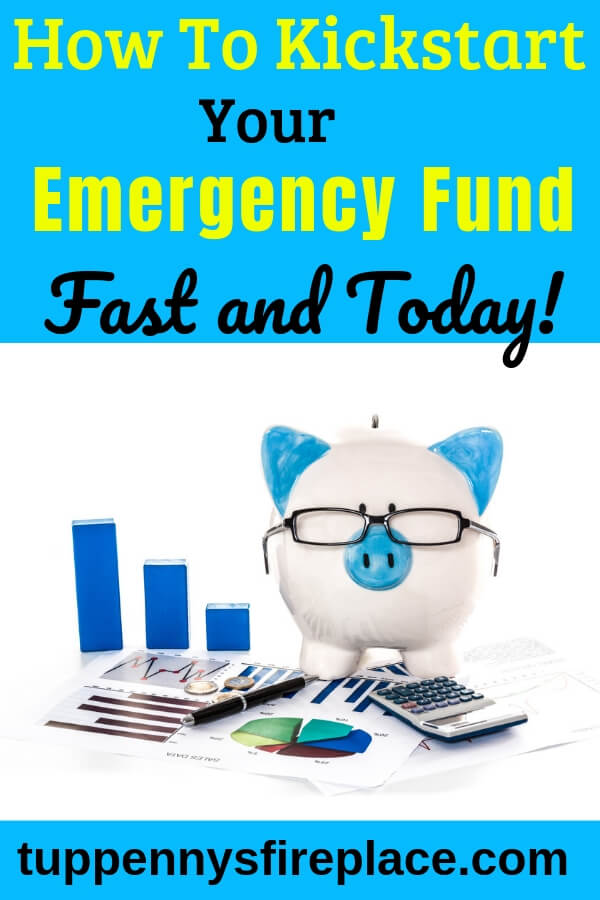 Just what I needed, thank you! Saving money ideas to help me with my money goals. An emergency cash stash covers your unexpected bills and helps you manage your money and your finances. #emergencyfund #personalfinance #savingmoney #budgeting