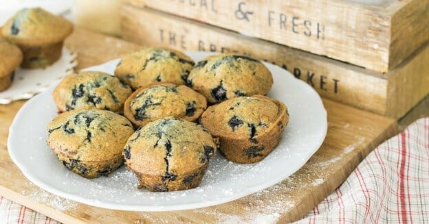 a plate of muffins - bake cakes to make money