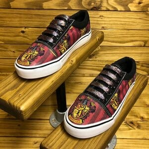gryffindor inspired canvas shoes pair - earn extra cash