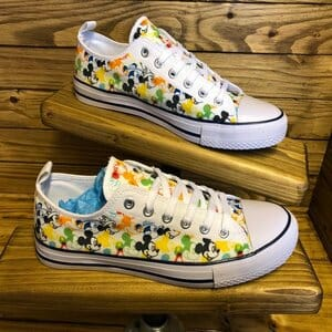 mickey mouse inspired canvas shoes - earn extra cash